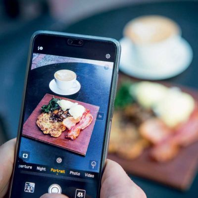 How to take better food photos