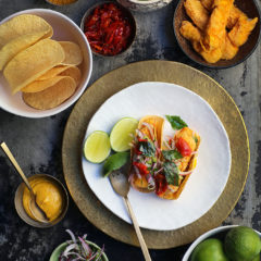 Chef Liam Tomlin's fried fish tacos