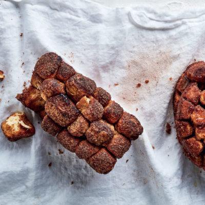 Pull-apart caramel bread