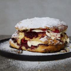 Abi's giant scone cake