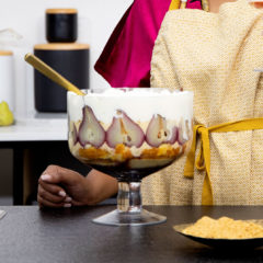 The Lazy Makoti's pear trifle