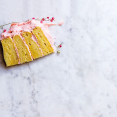 Watch: Abi's strawberries-and-cream memories cake