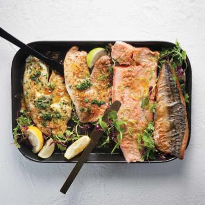 Lashings of flavour with Woolies lightly smoked fish