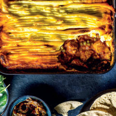 Korma chicken cottage pie