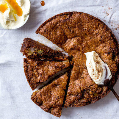 Pear-and-ginger cake