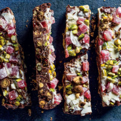 Double-chocolate rocky road