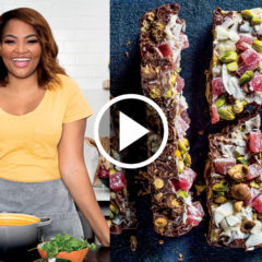 Watch: Siba's double-chocolate rocky road