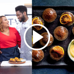 Watch: Siba's mini malva puddings