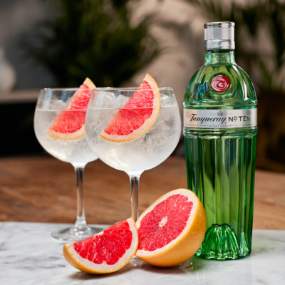 Winning winter drinks with Tanqueray