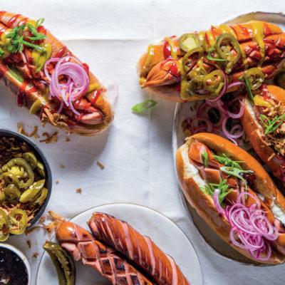 Paloma's hot dog