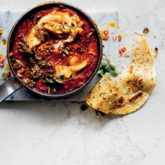 Easy tomato-hake curry