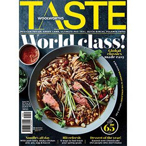 TASTE August issue