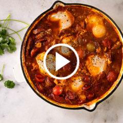 Watch: easy tomato shakshuka