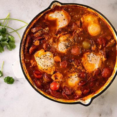 Easy tomato shakshuka