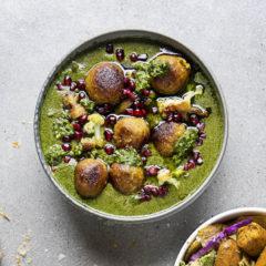 Quick vegan curry