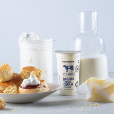 The cream of the dairy crop at Woolworths