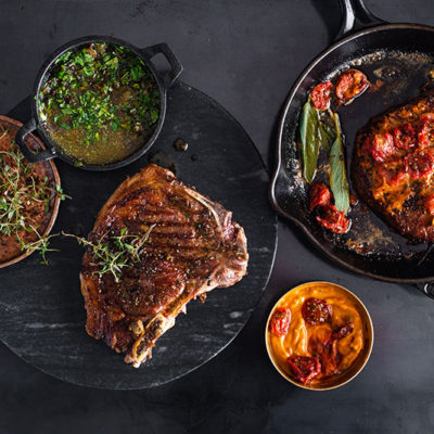 2 flavour-bomb butters for the ultimate steak