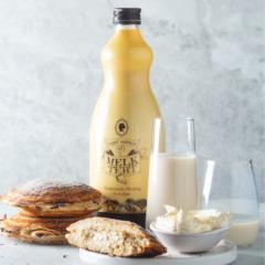 Milk-tart jaffles