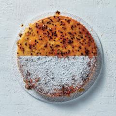 Granadilla frangipane tart