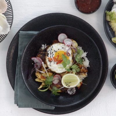Whip up nasi goreng in a hot minute