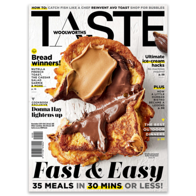 Get the November issue of TASTE now