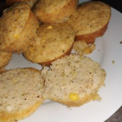 Sweetcorn spiced muffins