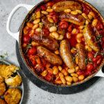 30 minute sausage tray bake