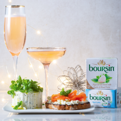Did anyone say Boursin and bubbly?