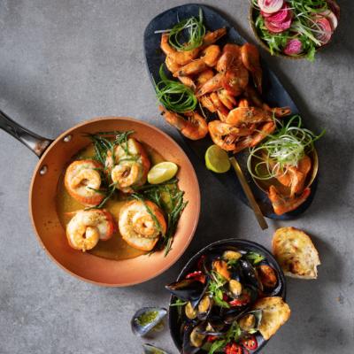 Festive seafood feasts