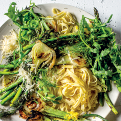 Fennel-and-asparagus pasta