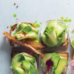 Green goddess avo toast