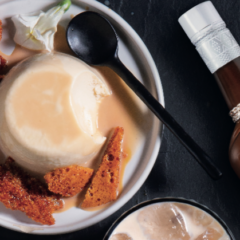 Dig into this Amarula panna cotta