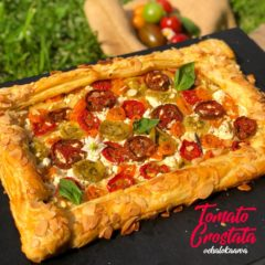TOMATO GALETTE/ CROSTATA