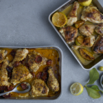 Easy chicken traybake
