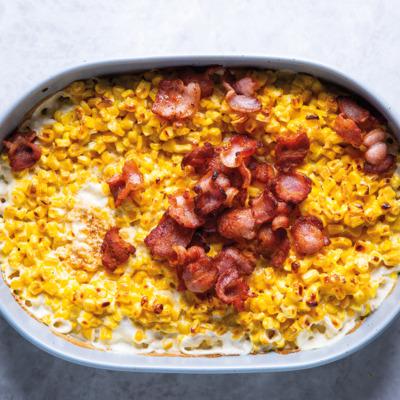 Crunchy, cheesy sweetcorn
