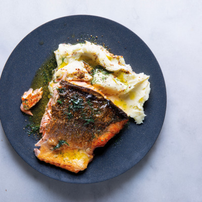 Easiest fried salmon