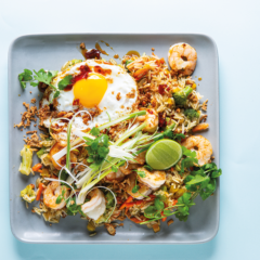 Egg-fried rice