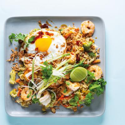 Egg-fried rice