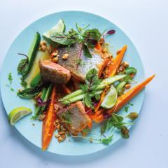 Rainbow trout salad