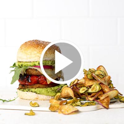 3 delicious ways with veggie burgers