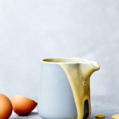 Curdle-proof custard