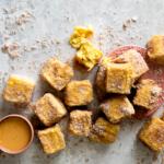 deep-fried milk tart