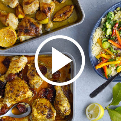 easy chicken tray bake two ways