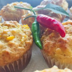 Chilli Cheese Sweetcorn Muffins