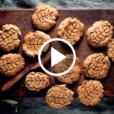 Watch: peanut butter-and-date biscuits