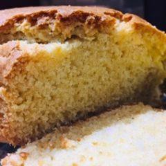 Rustic Vanilla Milk Sponge Cake