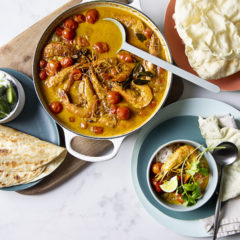 Creamy and delicious prawn curry