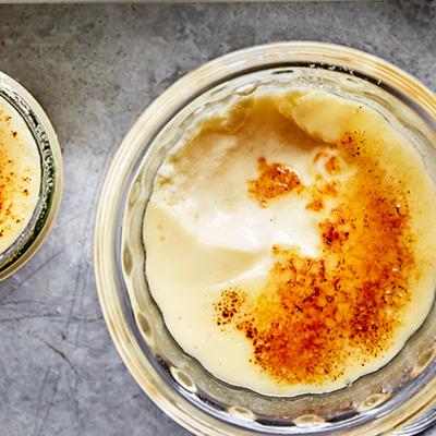 Genius yoghurt brûlée