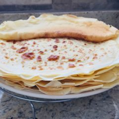 South Indian Dosas (Crepes)