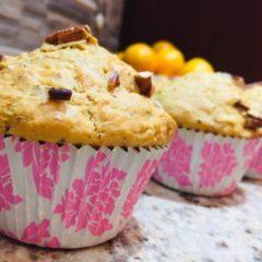 Pecan Nut, Dates & Cinnamon Muffins